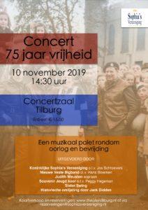 """Concert """"75 jaar vrijheid"""" in concertzaal Tilburg @ Theaters Tilburg"""